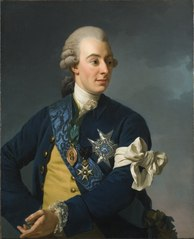 Gustavo III de Suecia por Alexander Roslin