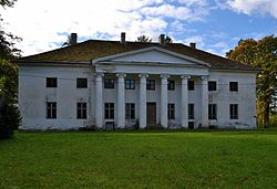Härgla manor main biggin