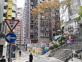 HK SW 上環 Sheung Wan 四方街 Square Street Rich View Terrace Tai Ping Shan Street stairs Kui In Fong March 2020 SS2.jpg