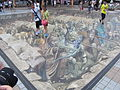 HK TST East Hong Kong Museum of History square floor picture Aug-2012.JPG
