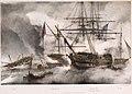 HMS 'Genoa' 74 Commodore Bathurst, at the Battle of Navarino 20 October 1827.jpg