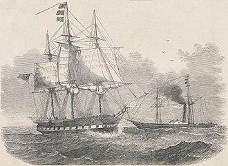 HMS Herald (1822) - Image: HMS Herald (cropped)