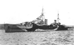 HMS Spartan (95) - HMS Spartan