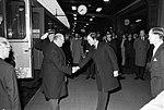 HM Olav V of Norway arrives in Stockholm 1972.jpg