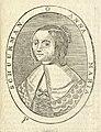 HUA-106415-Portret van Anna Maria van Schurman geboren Keulen 5 november 1607 schrijfster en dichteres te Utrecht overleden Wiewerd 5 mei 1678 Borstbeeld links i.jpg