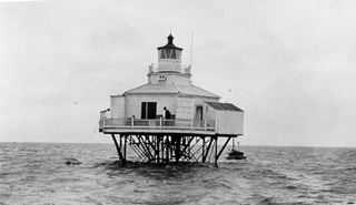 Halfmoon Reef Light lighthouse in Texas, United States