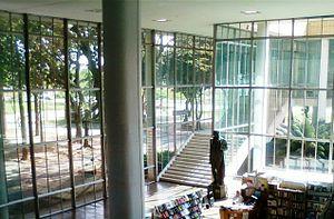 Escola Nacional de Belas Artes - Image: Hall Reitoria UFRJ