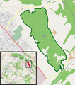 Halle (Westfalen) - NSG Gartnischberg - Map.png