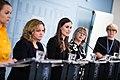 Hallituksen tiedotustilaisuus koronavirustilanteesta ja varautumisesta Suomessa 27.2.2020 (49591237603).jpg