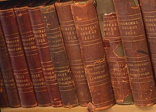 Law book book containing law and possibly explanations of it