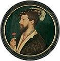Hans Holbein (II) - Portret van Simon George van Cornwall - 1065 - Städel Museum.jpg