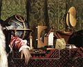Hans Holbein d. J. - The Ambassadors (detail) - WGA11555.jpg