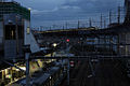Hashimoto Station at night.jpg