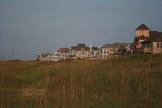 Hatteras, North Carolina - Image: Hatteras Beach Homes