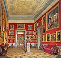 Hau. Interiors of the New Hermitage. The Room of the German School. 1860.jpg