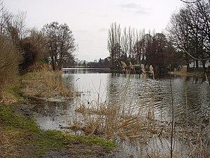 Hoppegarten - Haussee lake at Hönow