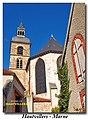 Hautvillers, abbatiale St.-Sydulphe (51 Marne).JPG