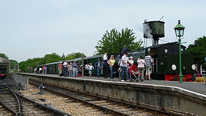 Isle of Wight Steam Railway - Havenstreet Station