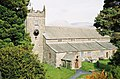 Hawkshead, parish church, hills beyond - geograph.org.uk - 480428.jpg