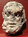 Head of Vajrapani, Swat, Pakistan, 2nd century AD, schist - San Diego Museum of Art - DSC06357.JPG