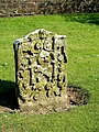 Headstone In Tarbolton Churchyard - geograph.org.uk - 1305039.jpg