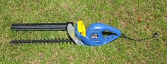 Hedge trimmer - Image: Heckenschere Elektr
