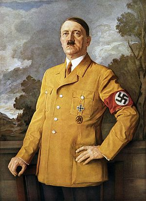 Heinrich Knirr - Adolf Hitler's official portrait
