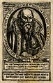 Heinrich Paxmann. Line engraving by (F. F.), 1580. Wellcome V0004563.jpg