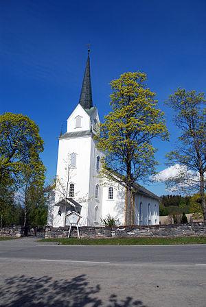 Helgøya, Hedmark - Image: Helgoeya church