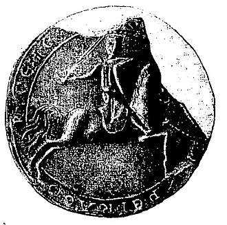 Count of Périgord - The counter-seal of Elias VI of Périgord