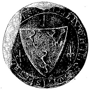 Count of Périgord - The seal of Elias VI of Périgord
