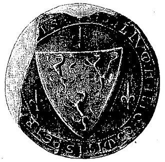 Count of Périgord - The seal of Elias VI of Périgord
