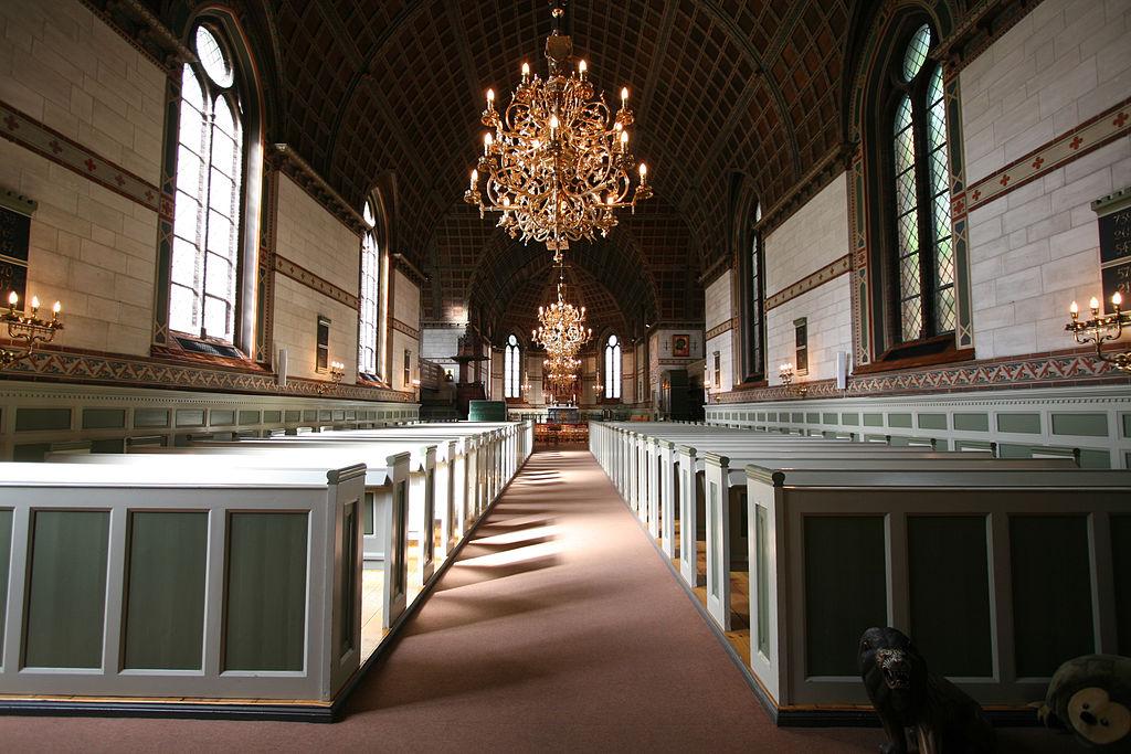 Eglise de Hellig Kors Kirke à Copenhague.