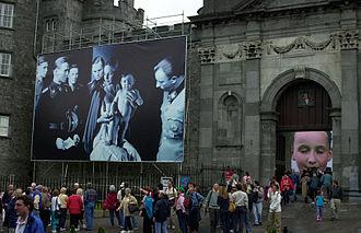 Kilkenny Arts Festival - Image: Helnwein Kilkenny Arts Festival
