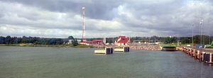 Heltermaa - Heltermaa port on July 16, 2012