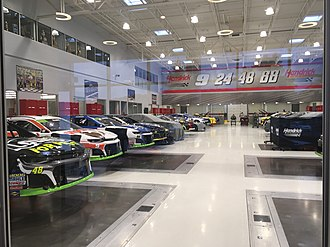 Hendrick Motorsports - Hendrick Motorsports race shop in Concord, North Carolina
