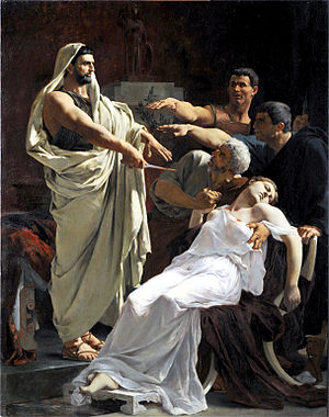 Henri Pinta - The Oath of Brutus (1884)