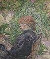 Henri de Toulouse-Lautrec - Femme rousse assise dans le jardin de M. Forest.jpg