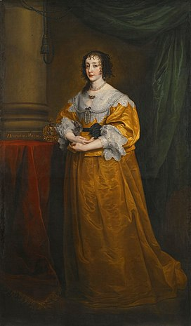 Henrietta Maria of France, Queen of England, Scotland and Ireland.jpg
