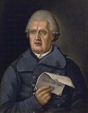 Johan Erik Hedberg - Henrik Gabriel Porthan by Johan Erik Hedberg, from Suomen historia by K. O. Lindeqvist