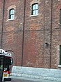 Heritage building, SW corner of Mill and Trinity, Distillery District, 2014 11 05 (2) (15541247790).jpg