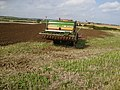 Hi-Tech tractor working near Crook Ness - geograph.org.uk - 563135.jpg