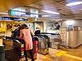 Hibiya line - Ebisu stn ticket gates - Jan 29 2018.jpg