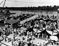 Higgins PT Boats at New Orleans Industrial Canal 28 June 1943 NH 44483.jpg