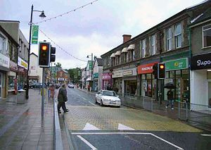 Blackwood, Caerphilly - High Street, Blackwood