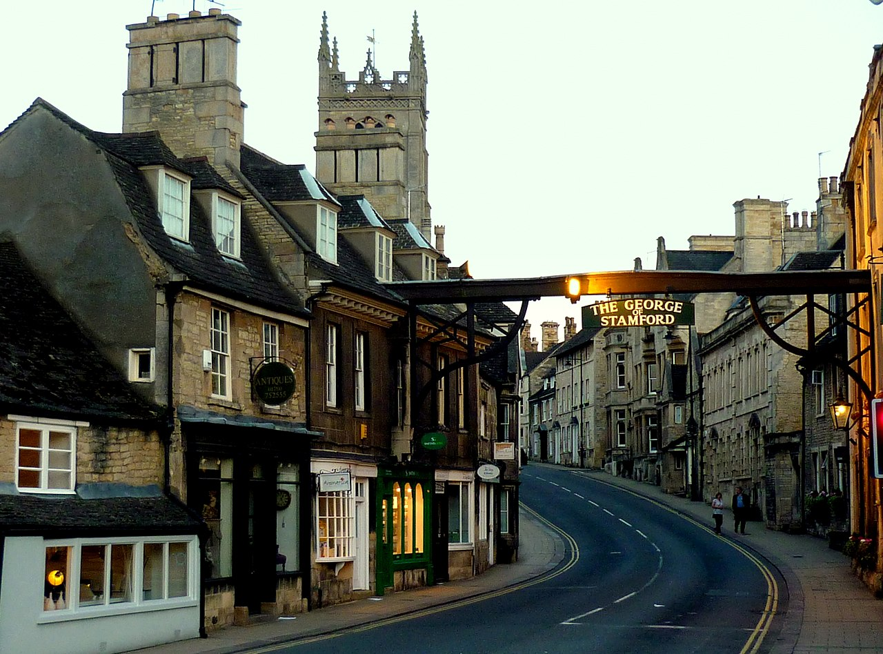 File High Street St Martin S Stamford Jpg Wikimedia Commons