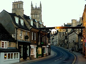 Stamford, Lincolnshire - Image: High Street St Martin's, Stamford