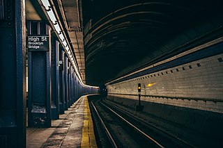 High Street station (IND Eighth Avenue Line) New York City Subway station in Brooklyn