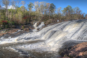 Towaliga River - Towaliga River at High Falls State Park