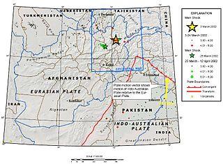 2002 Hindu Kush earthquakes Earthquakes in northern Afghanistan